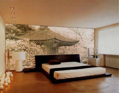 Sakura v interere doma062