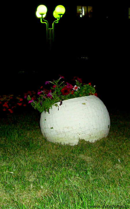 kruglii vazon