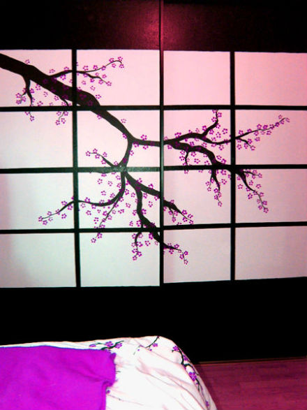 spal'nay v stile sakura