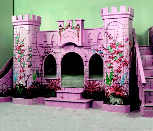 Детская комната - средневековый замок маленькой принцессы