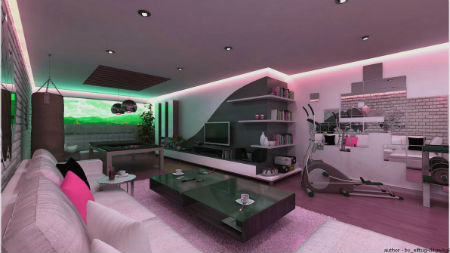 Cool gaming bedrooms