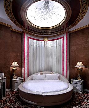 Дизайн спальни - целая галактика, как на ладони