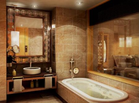 korichnevay vannaya 1