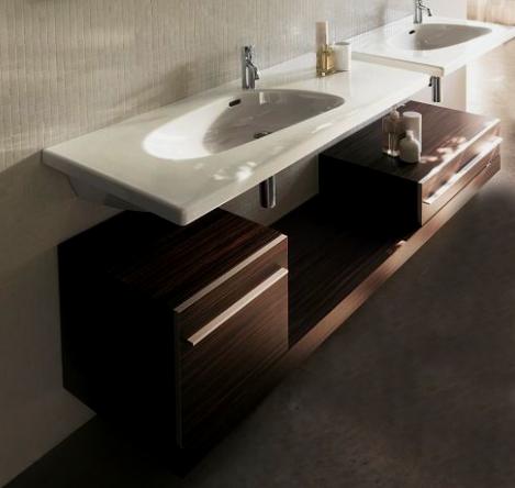 Коричневая ванная комната с привкусом кофе