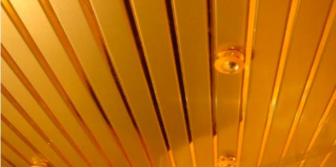 Реечный потолок - стильное решение