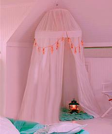 Детская комната для девочки: шатер Шамаханской царицы