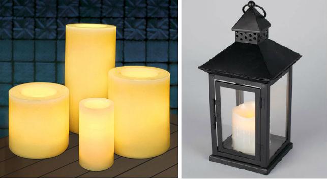 Светодиодные свечи и переносные фонари