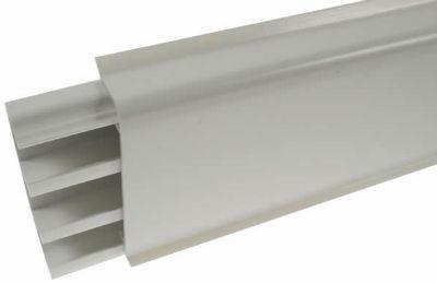 ystanovka plastikovogo plintysa