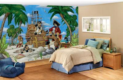 Детская комната в пиратском стиле – приключения на дому!