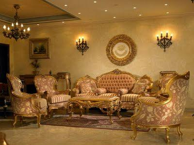 Гостиная в Итальянском стиле, как представитель роскоши!