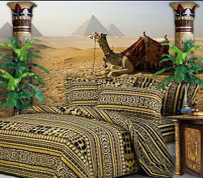 spаl`nyа v egipetskоm stile fоtо 1