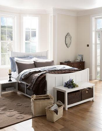 korzini v interere spalni 1