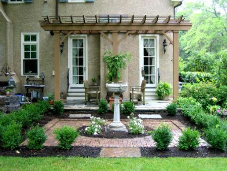 Дизайн или сад в английском стиле