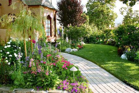 Английский ландшафтный дизайн или сад