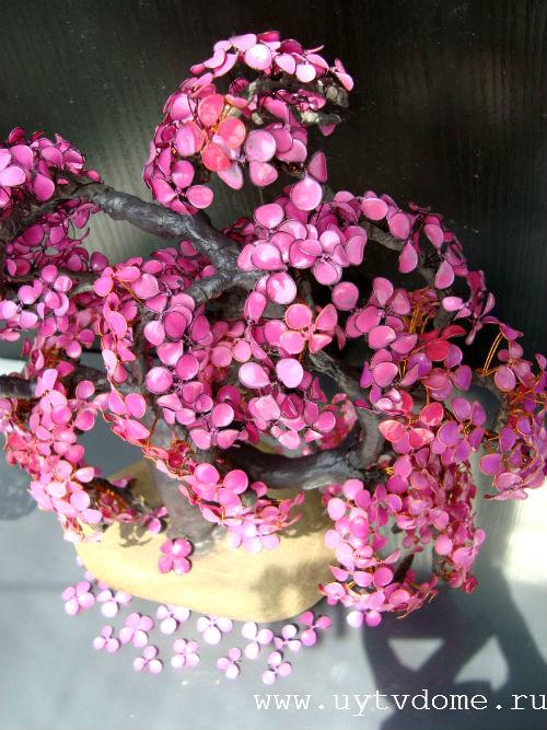 Как сделать цветочки из лака для ногтей 677