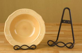 Как сделать подставку для тарелки своими руками