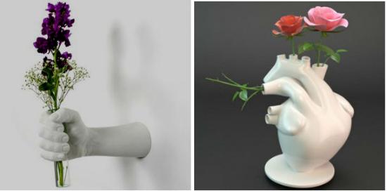 Прикольные вазы для цветов фото