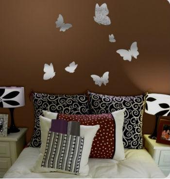 Бабочки в интерьере – стильно, модно, великолепно! (30 фото)