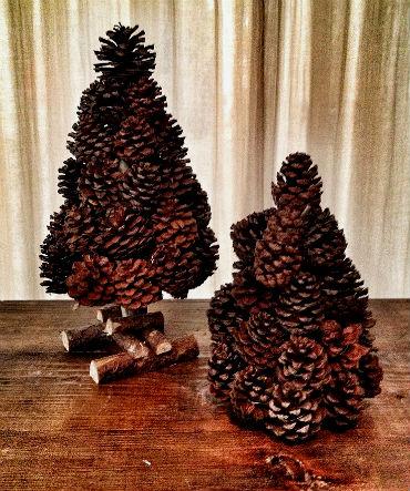 Как сделать елку из шишек своими руками