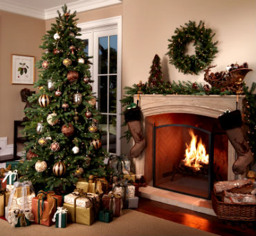 novogodnee ukrahsenie doma 33