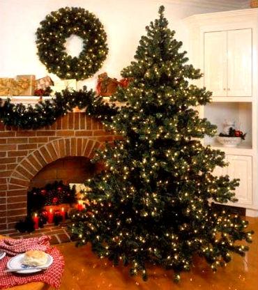 novogodnee ukrahsenie doma 34