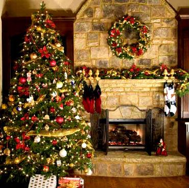 Новогодний декор дома или украшение квартиры к Новому году
