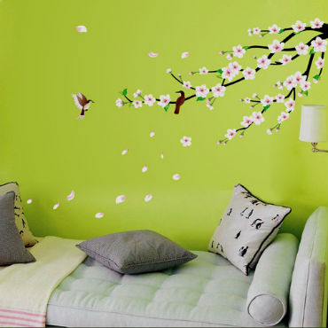 Сакура в интерьере – великолепный цветущий эффект!