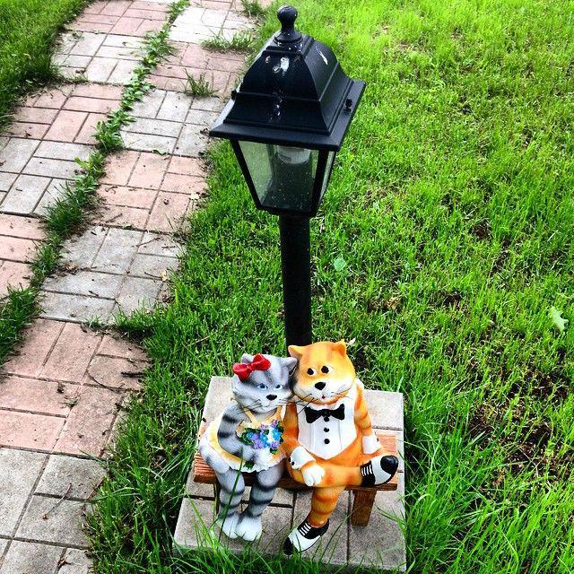 Керамические фигурки для сада - декорируем участок