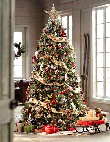 Красиво украшенные Новогодние елки или как украсить Новогоднюю елку