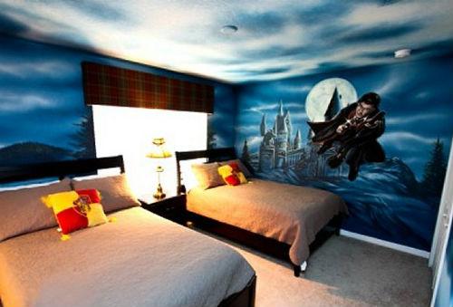 Как оформить комнату в стиле гарри поттера
