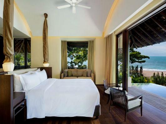 Спальня в тропическом стиле фото