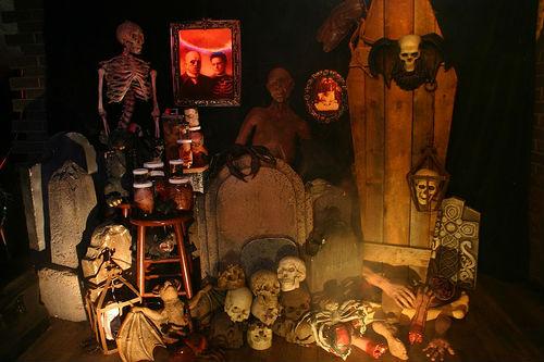 Эффектные декорации на Хэллоуин или лучший декор на Хэллоуин