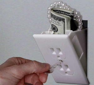 Тайники для денег.