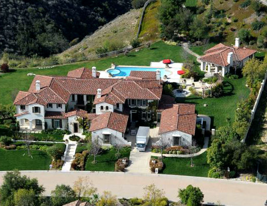 Дом Джастина Бибера фото.