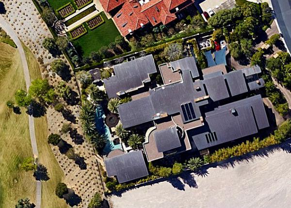 Дом Дэвида Копперфильда в Лас-Вегасе.