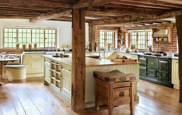 Интерьер кухни в стиле Прованс (более 60 фото)