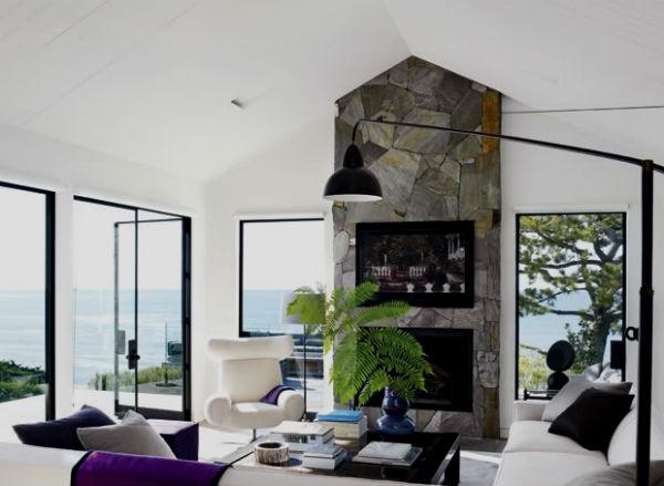 Полностью реконструированный дом Кортни Кокс на берегу Тихого океана