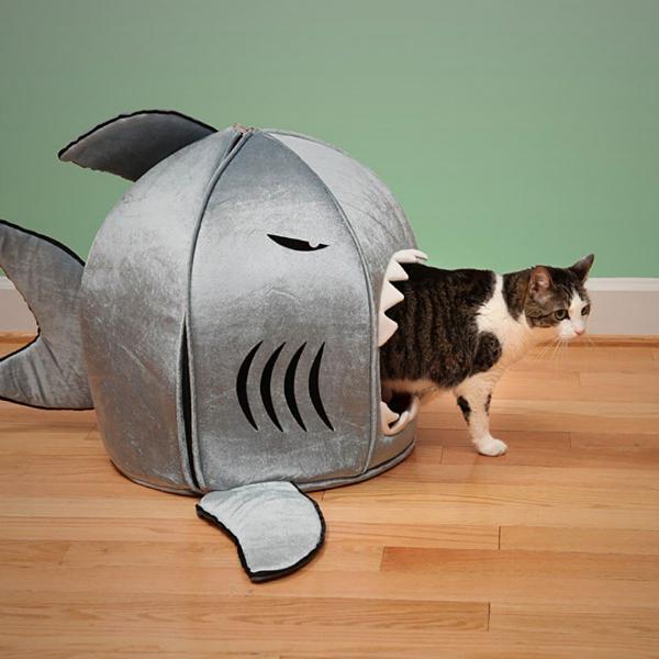 Шьем домик для кошки
