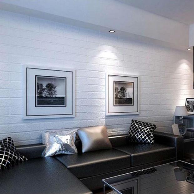 Белые обои в интерьере - свежо, опрятно и уютно (60+ фото)