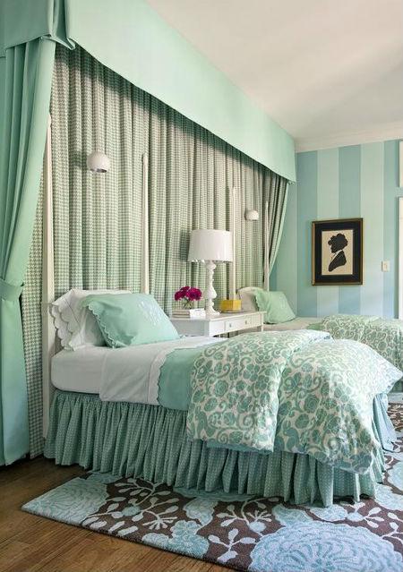 Цвет и стиль Тиффани в интерьере: свежо, красиво и модно (80+ фото)