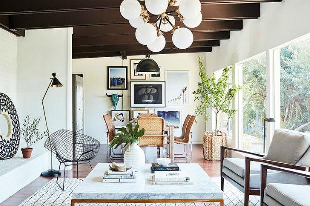 Светлый и уютный дом актрисы Софии Буш в Калифорнии