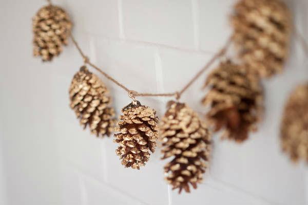 Поделки из шишек на Новый Год – лучший природный декор (более 140 фото)