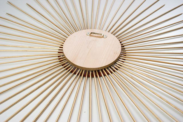 Как сделать зеркальную раму из бамбуковых палочек своими руками (мастер-класс)