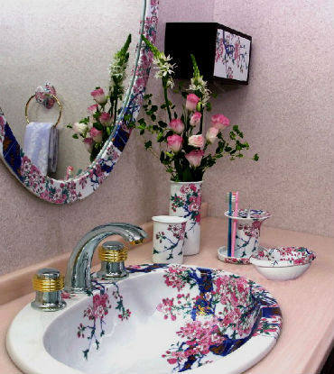 Sakura v interere doma 15