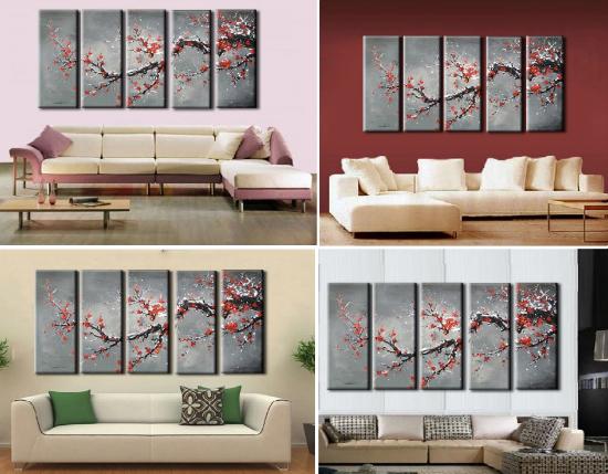 Sakura v interere doma 40