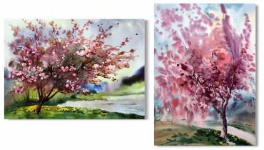 Sakura v interere doma 42