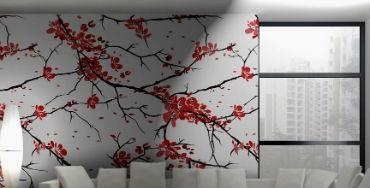 Sakura v interere doma 65