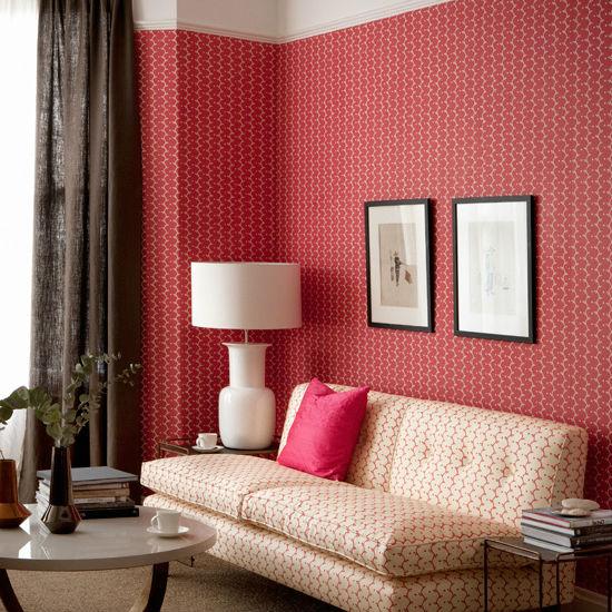 Красные обои в гостиной (более 30 фото красных обоев в интерьере) – УЮТ В ДОМЕ