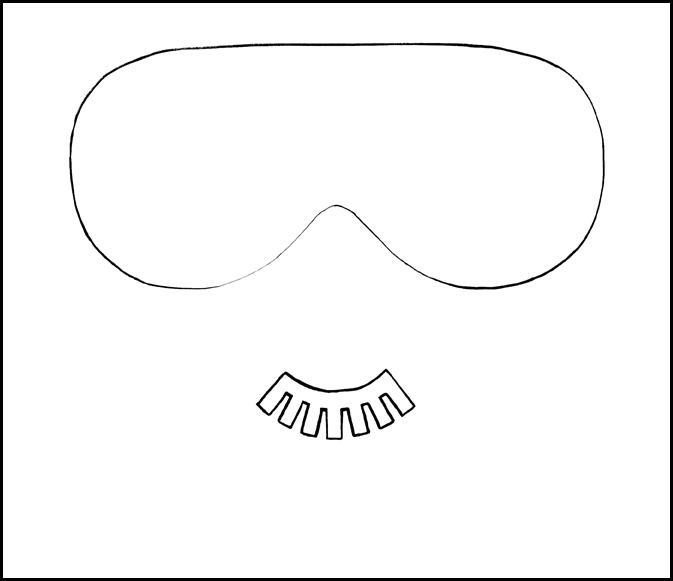 maska-dly-sna-2 Как сшить маску для сна своими руками: пошаговая инструкция