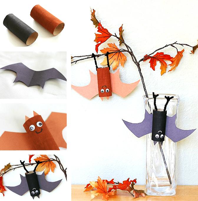 8 идей: как сделать летучую мышь своими руками на Хэллоуин и не только